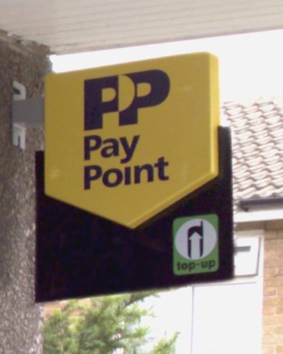 Sir Edward Garnier visits a local PayPoint | Harborough, Oadby & Wigston